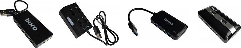 USB-разветвители BURO