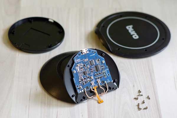 Беспроводное зарядное устройство BURO QF2 QC3.0