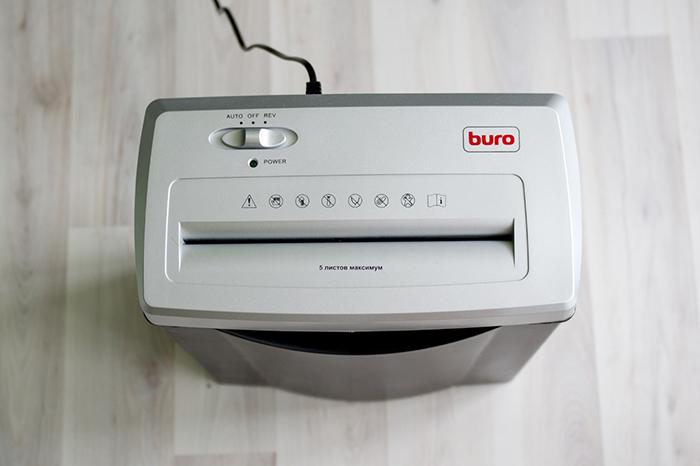 Шредер BURO BU-FD504M